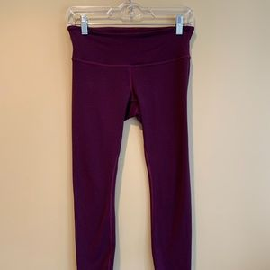 Lululemon Dark Purple Leggings